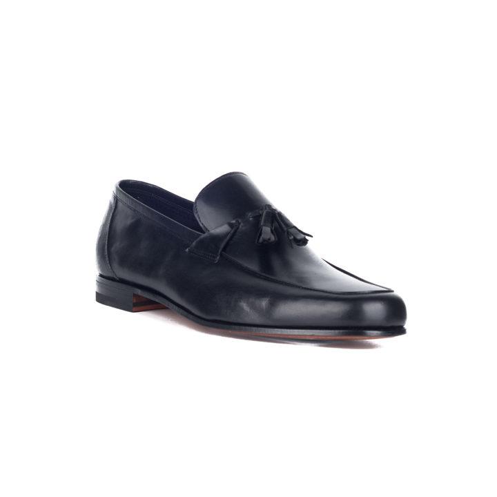 zapato negro hombre calce