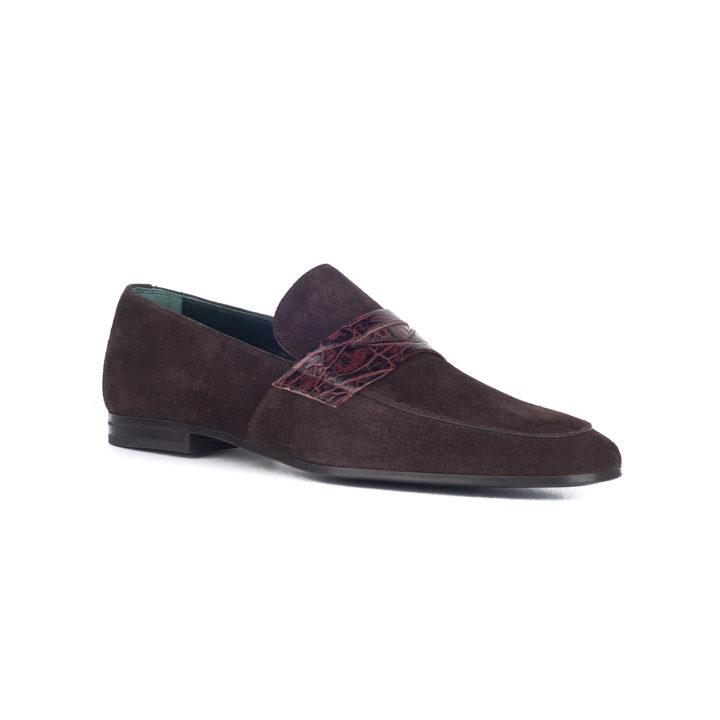 zapato marrón hombre calce